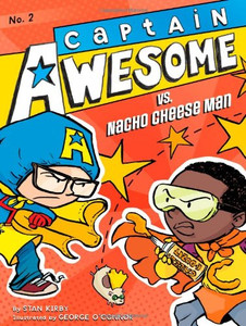 Captain Awesome vs. Nacho Cheese Man (Paperback)-Clearance Book/Non-Returnable