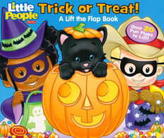 Trick or Treat! Lift-a-Flap (Board Book)-Clearance Book/Non-Returnable