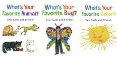 Eric Carle and Friends Set of 3 (Board Book)