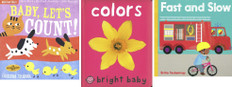 Baby Learns Colors, Numbers and Words  (BSB)- 15 Books