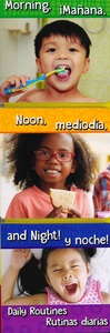 Morning, Noon, and Night! Daily Routines (Spanish/English)  (Board Book)