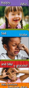 Happy, Sad, and Silly! Daily Emotions (Spanish/English) (Board Book)