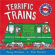 Terrific Trains: Amazing Machines (Paperback)