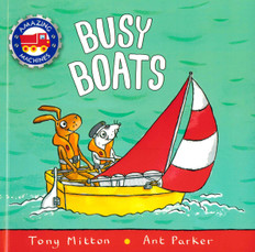 Busy Boats: Amazing Machines (Paperback)