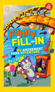 Funny Fill-In My Amusement Park Adventure (Paperback)-Clearance Book/Non-Returnable