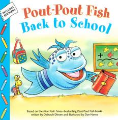 Pout-Pout Fish Back to School (Paperback)
