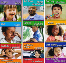 Daily Emotions, Helpers, and Routines! 45 BOOK BUNDLE (Spanish/English) (Board Book)