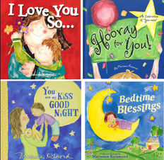 Lots of Love! Marianne Richmond Set of 4