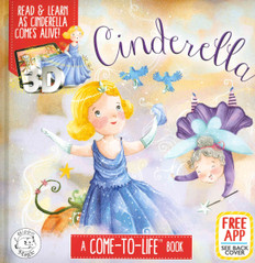 Cinderella: A Come-To-Life™ Book (Padded Board Book)