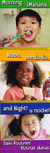 CASE OF 72 - Morning, Noon, and Night! Daily Routines (Spanish/English)  (Board Book)