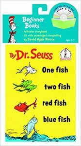 One Fish, Two Fish, Red Fish, Blue Fish Book and CD (Paperback)
