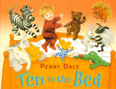 Ten in the Bed Board Book