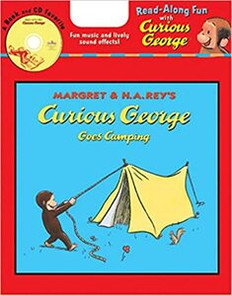 Curious George Goes Camping (Paperback and CD)