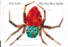 The Very Busy Spider (World of Eric Carle) (Board Book)