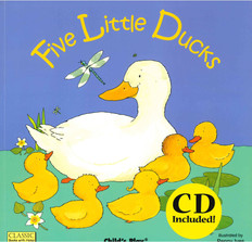 Five Little Ducks (Paperback and CD)