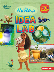 Moana Idea Lab: Hands-On STEAM Projects (Paperback)-Clearance Book/Non-Returnable
