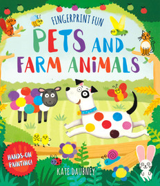 Pets and Farm Animals: Hands on Painting (Paperback)-Clearance Book/Non-Returnable