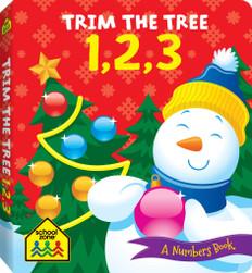 Trim The Tree 1,2,3 (Board Book)
