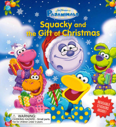 Squacky and the Gift of Christmas (Board Book)