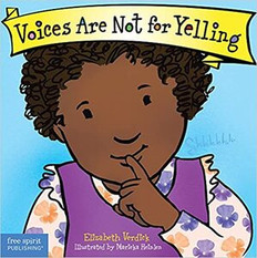 Voices Are Not For Yelling Board Book-Clearance Book/Non-Returnable