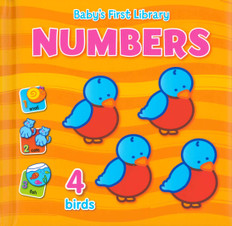 Baby's First Library: Numbers (Padded Board Book)