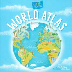 Little Genius: World Atlas (Board Book)