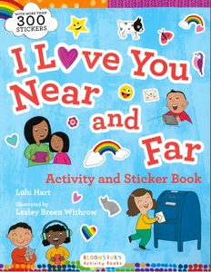 I Love You Near and Far: Activity and Sticker Book (Paperback)