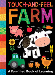 Touch-and-Feel Farm (Board Book)-Clearance Book/Non-Returnable