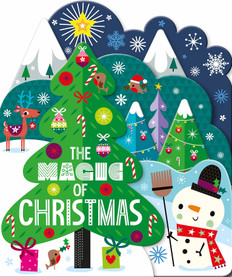 The Magic of Christmas (Board Book)-Clearance Book/Non-Returnable