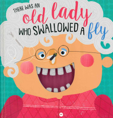 There Was an Old Lady Who Swallowed a Fly (Board Book)-Clearance Book/Non-Returnable