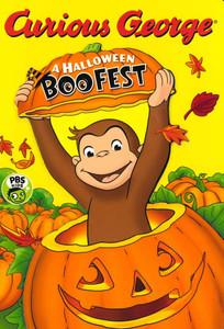 Curious George: A Halloween Boo Fest (Board Book)