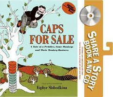 Caps for Sale (Paperback and CD)