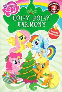 Holly, Jolly Harmony: My Little Pony Level 2 (Paperback)