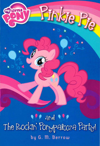 Pinkie Pie and The Rockin' Ponypalooza Party! My Little Pony (Paperback)-Clearance Book/Non-Returnable