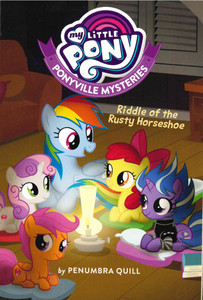 Riddle of the Rusty Horseshoe: My Little Pony Ponyville Mysteries (Paperback)-Clearance Book/Non-Returnable