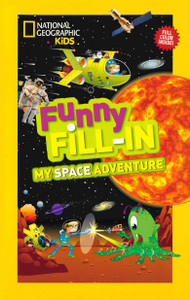 Funny Fill-in My Space Adventure (Paperback)