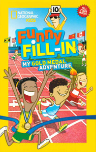 Funny Fill-In My Gold Medal Adventure (Paperback)