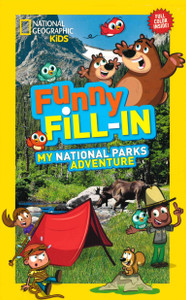 Funny Fill-In My National Parks Adventure  (Paperback)-Clearance Book/Non-Returnable