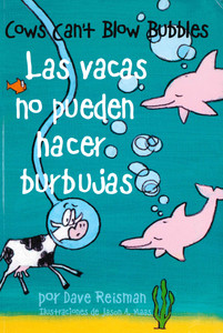 Cows Can't Blow Bubbles (Spanish/English) (Paperback)-Clearance Book/Non-Returnable