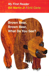 Brown Bear, Brown Bear, What Do You See? (My First Reader)-Clearance Book/Non-Returnable