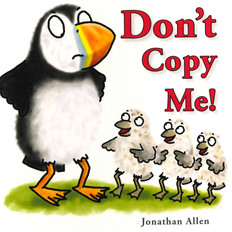 Don't Copy Me! (Board Book)-Clearance Book/Non-Returnable