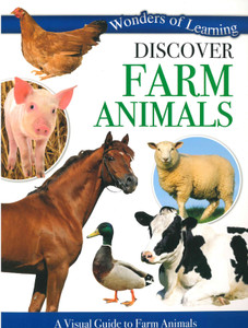 Discover Farm Animals: Wonders of Learning (Paperback)-Clearance Book/Non-Returnable