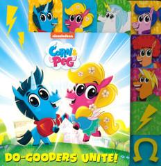 Do-Gooders Unite! Corn & Peg (Board Book)