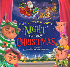 This Little Piggy's Night Before Christmas (Board Book)