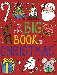 My First Big Book of Christmas: Coloring Book (Paperback)-Clearance Book/Non-Returnable