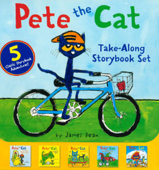 Pete the Cat Take-Along Storybook Set of 5 (Paperback)