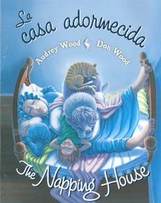 The Napping House/ La casa adormecida (Spanish/English) (Board Book)