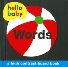 Hello Baby Words: High Contrast (Board Book)
