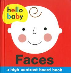 Faces: High Contrast (Board Book)