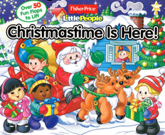 Christmastime Is Here! Lift-a-Flap (Board Book)- Clearance Book